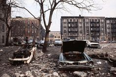 South Bronx, New York City in 1970