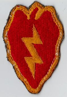 WWII WW2 OR KOREAN WAR ERA ORIGINAL U.S. ARMY 25TH INFANTRY DIVISION PATCH picclick.com
