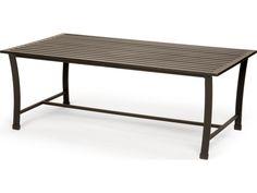 Caluco San Michele Aluminum 44 x 24 Rectangular Metal Coffee Table   710-F