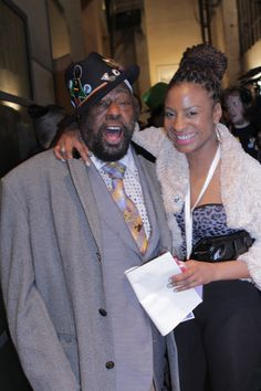 Me with George Clinton, Feb 2014