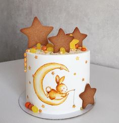 such a cute cake for children! And I love the cookies on top!