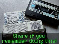 Saving home-made computer programs to cassette