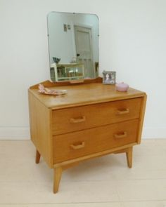 Mid century furniture bedroom on pinterest chest of for G plan bedroom furniture dressing tables
