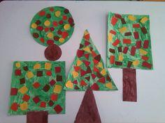 Φθινοπωρινά σχηματοδεντρα σχηματόδεντρα / Fall shape-trees