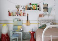 the boo and the boy: Vintage eclectic kids' rooms