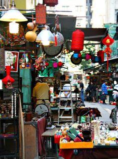 Upper Lascar Row, Hong-Kong