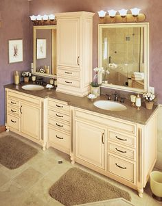 Bathroom Vanity Cabinets - Fieldstone Cabinetry | Flickr - Photo Sharing!
