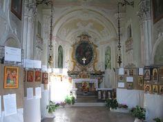 Chiostro di Voltorre, in  Gavirate (VA), Lombardia Chiesa di San Michele, piazza Chiostro ,23 mostra di ICONE SACRE .www.mirabileydio.it