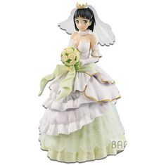 Exq Figure 2018, Toy NEU Wedding Banpresto :sword Art Online Code Asuna
