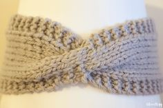 headband_tricot Headband Laine, Bandeau Crochet, Wool Thread, Crochet Hats, Crocheted Headbands, Beanie, Knitting, Cute, Accessories