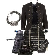 Dalek Inspired outfit