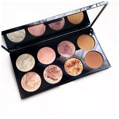 I think this is the Revolution Blush palette! A few people seemed interested , So I thought I would let you know of the brand! @eliseduffy