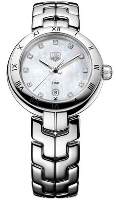 TAG Heuer Link Lady with Mother of Pearl Diamond Dial - Jewelers Trade Shop, Pensacola FL