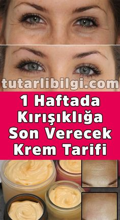 1 Haftada Kırışıklığa Son Verecek Krem Tarifi If you're one of those women who are afraid of wrinkles, then it's. Beauty Care, Beauty Skin, Beauty Hacks, Healthy Skin Care, Healthy Hair, Anti Aging Skin Care, Natural Skin Care, Creme Anti Rides, Piel Natural