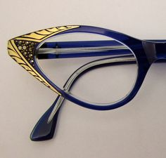 1950s French Marcasite frames