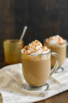 Caramel Brulee Coffee. Round-up of our favorite K-Cup Recipes, think outside the cup. Dessert, Coffees, Sweet Drinks and More on Frugal Coupon LIving..