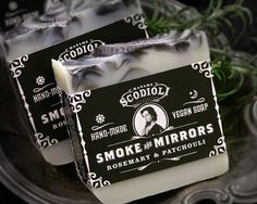 Smoke and mirrors soap by scodioli