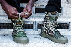 Palladium & SSUR*PLUS Link for Camouflage Boot Capsule | Highsnobiety