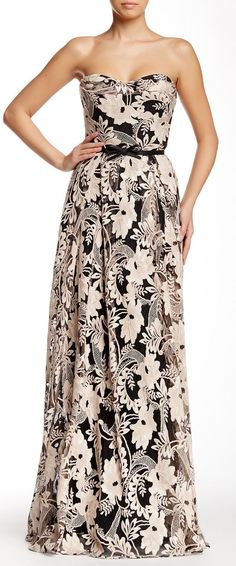 Embroidered gown // sponsored by Nordstrom Rack Sponsored by Nordstrom Rack.