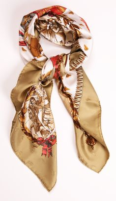 HERMES SCARF/WRAP @Michelle Coleman-HERS