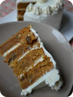 Le carotte cake multicouches de Charlotte... me fait de l'œil.