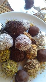Chocolate Truffles, Chocolate Recipes, Cooking Time, Cooking Recipes, Christmas Cooking, Greek Recipes, Vegan Desserts, Food To Make, Deserts
