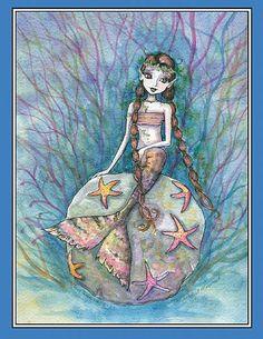 Molly Harrison The Wistful Mermaid