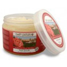#Bath #Petals - #California #Rose Garden #Salt #Scrub.  A rare floral infusion from California's beautiful rose gardens... a 100% #natural salt scrub, infused with calming Rose and #Geranium #essential #oils. A luxurious blend of mineral-rich Pacific sea salts and vitamin-rich organic plant oils help polish the body from head to toe.   20 OZ U.S./ 567 g e  $21.99