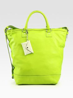 I want a neon colored handbag just don't know if i could pull it off.