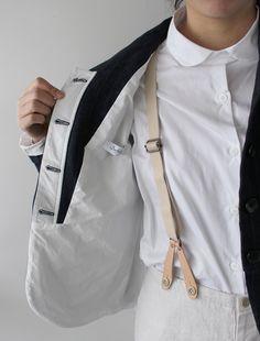[Envelope Online Shop] Bergfabel linen jacket Lisette Select