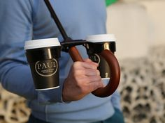 Hands-free, pivoted drinks holder for any and all umbrellas. by Andrew Tan — Kickstarter