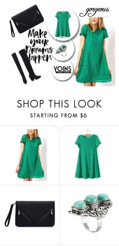 """""""YOINS 3"""" by april-lover ❤ liked on Polyvore featuring women's clothing, women, female, woman, misses, juniors and yoins"""