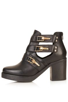 AUBREY Open Side Chunky Boots - Boots - Shoes - Topshop