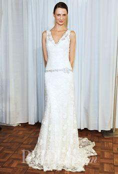 Brides.com: Rosa Clará - Spring 2015. Wedding dress by Rosa Clará