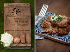 We think the @theforestfeast cauliflower latkes recipe for Chanukah is good all year long