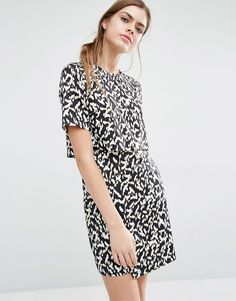 Image 1 of Suncoo Clara Double Layer Shift Dress