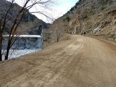 This is my all time FAVORITE place to hike!!! Waterton Canyon near Denver, CO, the first section of the famous Colorado Trail--David and I bike this canyon a lot because we live by it--it is amazing and the perfect day bike ride--stop and have lunch and watch the bighorn sheep!