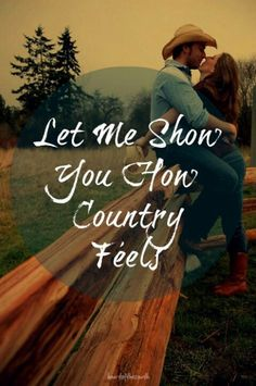 Country couple pic so cute.I want to fall in love with a country guy