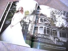 Oregon Bride Magazine (Fall-Winter); FAB 10-page spread at Historic Deepwood Estate, Salem, Oregon