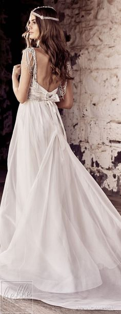 "With bold and intoxicating wedding dresses that are ""Everything"", Anna Campbell 2018 Eternal Heart Collection is a bridal-fashion moment not to be missed. Anna Campbell, Gorgeous Wedding Dress, Beautiful Gowns, Boho Bride, Boho Wedding, Dream Wedding, Bridal Gowns, Wedding Gowns, Honeymoon Outfits"