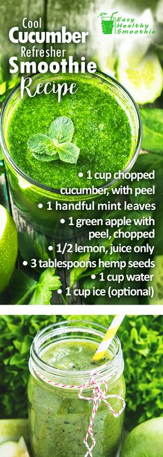 Cucumbers have amazing health benefits as well as help you lose weights. Learn why and how to make them an awesome addition to your smoothies.