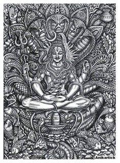 Shiva - the AdiYogi