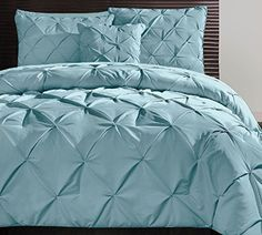 Victoria Classics Carmen 4 Piece Comforter King Set Blue ** Click on the image for additional details.