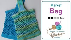 So many uses for these super cute market bags! Crocheted Market Bag Pattern Review - The Crochet Crowd