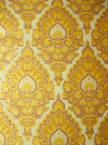 70's wallpaper, do one accent wall in a vintage wallpaper.  Etsy has lots of options- we did one wall of our powder room in a medallion print from the 70s.