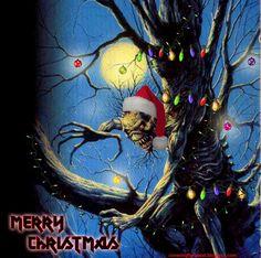 Post with 745 views. Merry Christmas, Dark Christmas, Heavy Metal Christmas, Halloween Christmas, Woodstock, Iron Maiden Albums, Iron Maiden Posters, Eddie The Head, Iron Maiden Band