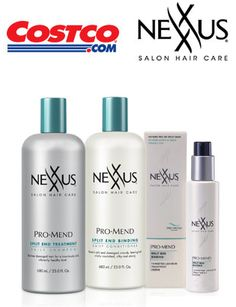FREE $$ Sample of NEXXUS ProMend Hair Care Products for Costco Members!