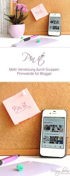 [Pin it] Mehr Vernetzung durch Gruppen-Pinnwände für Blogger