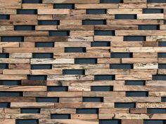 Descarga el catálogo y solicita al fabricante Wonderwall Studios revestimiento de pared 3d de madera para exterior Train