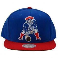 Mitchell   Ness New England Patriots Spring 2013 NFL Throwbacks XL Logo 2T Snapback  Hat Snapback 177d64033ed5